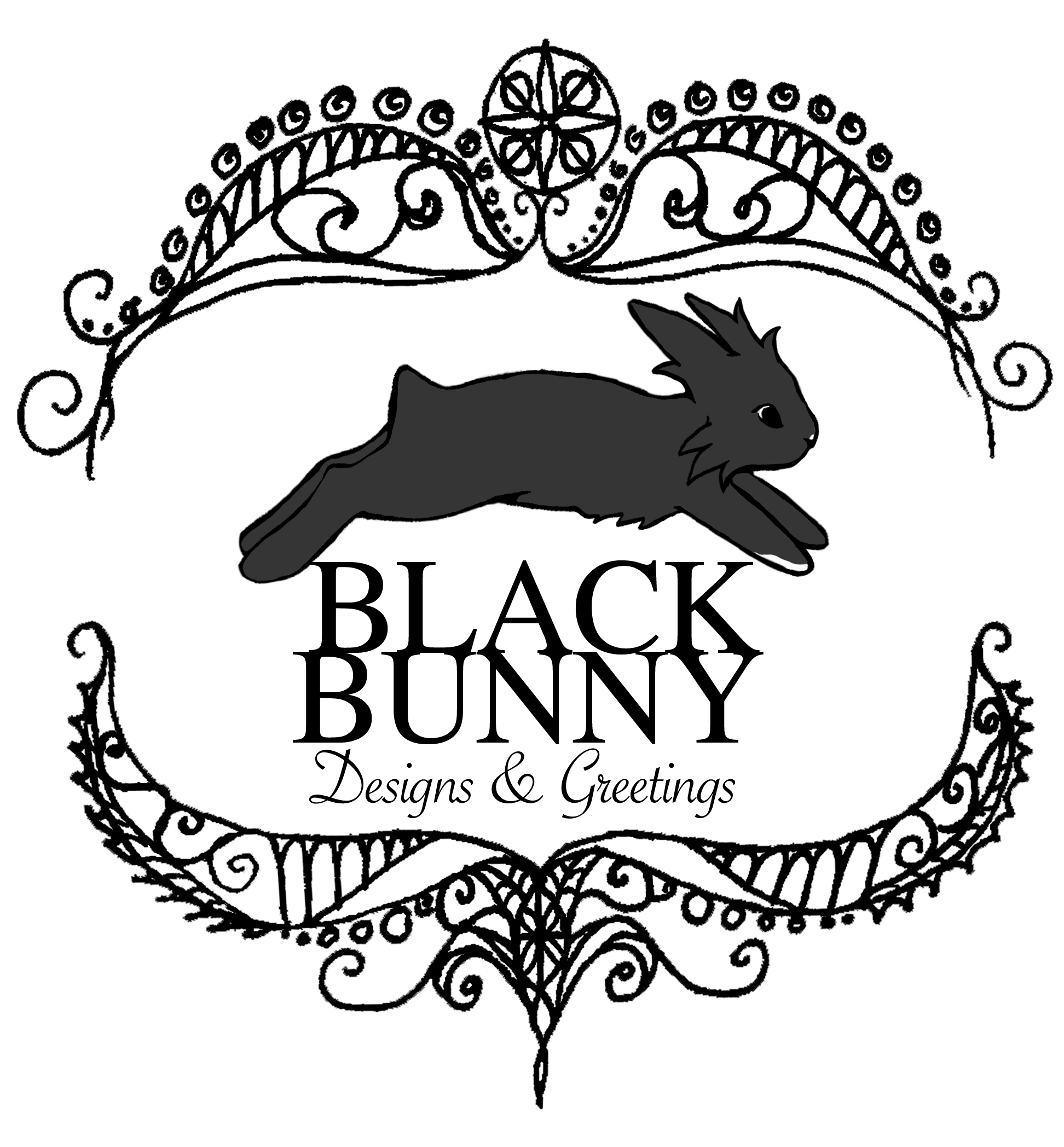 greeting cards by Black Bunny Designs and Greetings