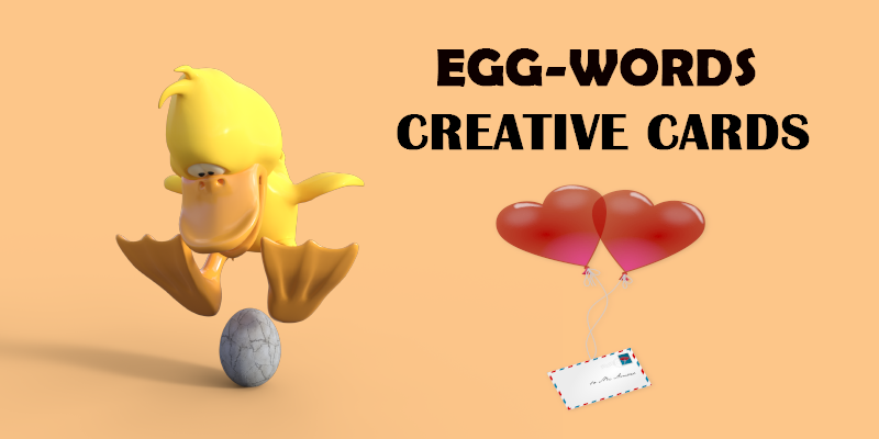 greeting cards by Egg-Words Creative Cards