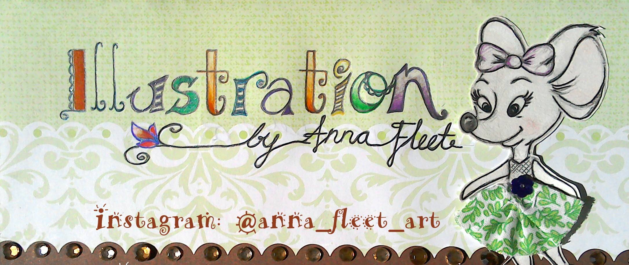 greeting cards by Illustration by Anna Fleet