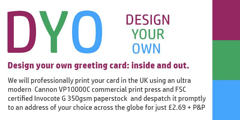 greeting cards by DYO - Design Your Own Cards