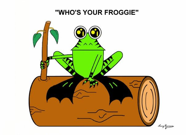 greeting cards by who's your froggie