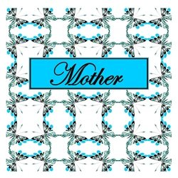 Mother Cheerful Spring Butterfly Pattern