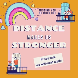 Distance makes us stronger