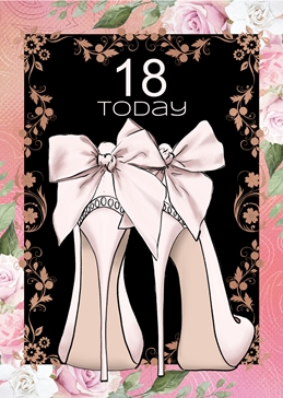 18 Today Birthday Card For Her