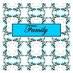 Family Cheerful Spring Butterfly Pattern