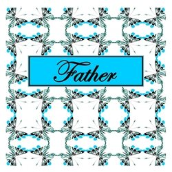 Father Cheerful Spring Butterfly Pattern