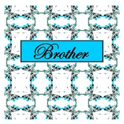 Brother Cheerful Spring Butterfly Pattern