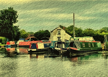 Canal boats/barges