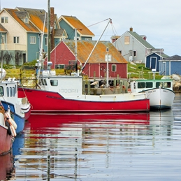 Fishing boats Peggy's Cove