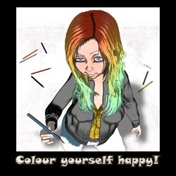 Colour yourself happy!
