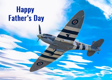 Spitfire father's day