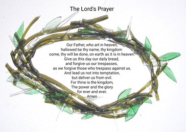 The Lord's Prayer and Crown of Thorns