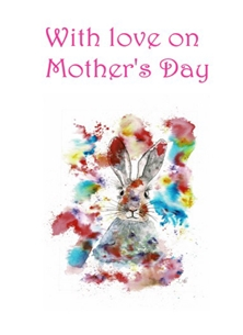Happy Hare Mothers Day Card