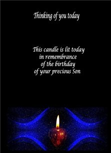 Remembering the birthday of your Son