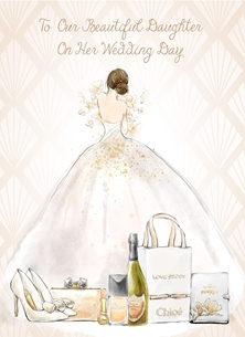 To Daughter  on her Wedding Day