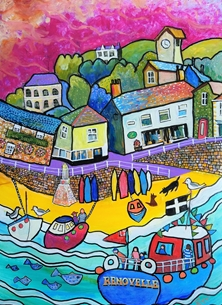 Harbour - Mousehole Cornwall