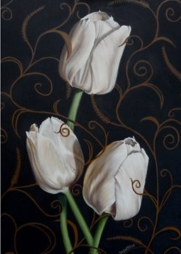 Tulips Entwined