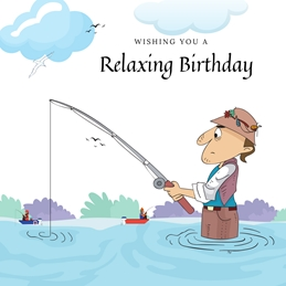 Relaxing Birthday - Male