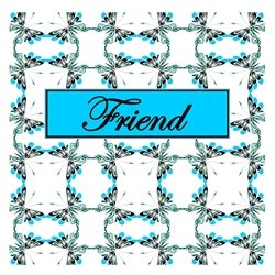Friend Cheerful Spring Butterfly Pattern