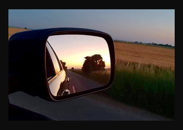 Driving away from home