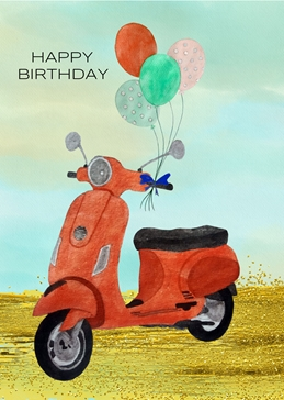 Birthday card for Her/Him