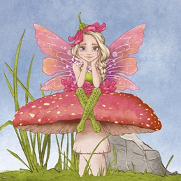 Contemplating Fairy General Card