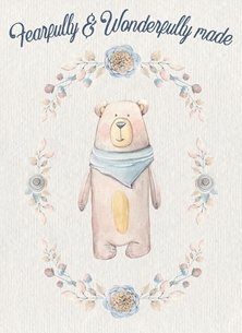 Fearfully And Wonderfully Made Christian Card