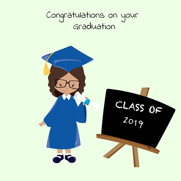 Her Nibs  Congratulations on your Graduation   personalised online greeting card