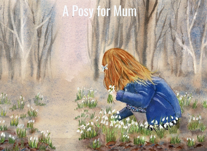 Juliescards A posy for Mum  personalised online greeting card