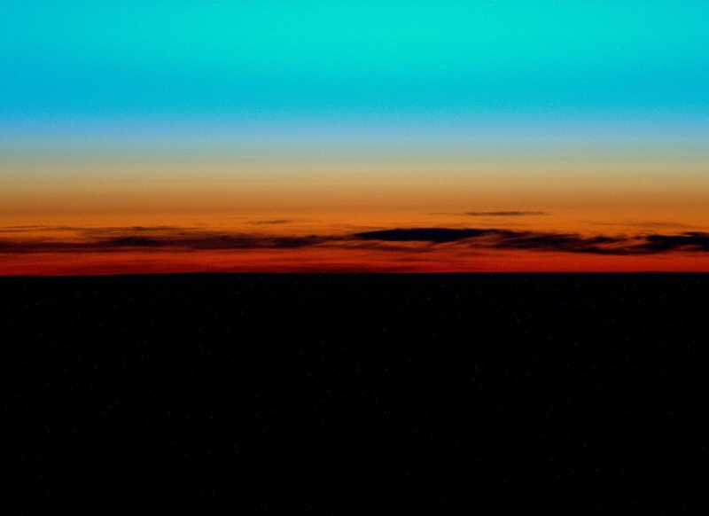 Hojadaro Fen sunset abstract  personalised online greeting card