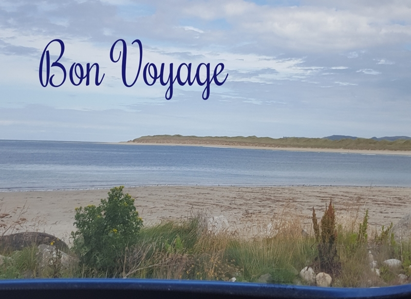 Animal welfare auctions Bon Voyage   personalised online greeting card