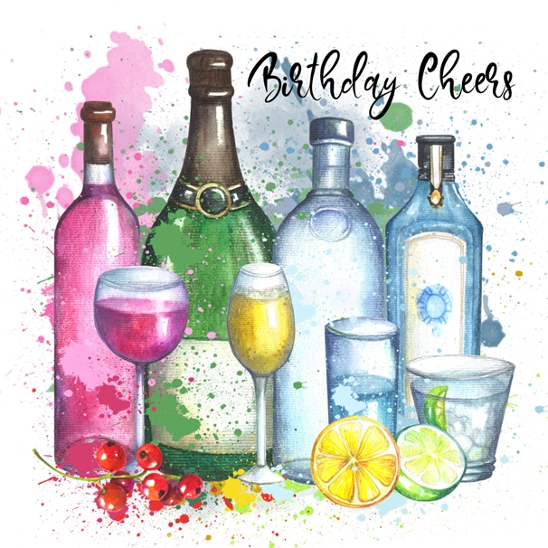 Snappy Designz Birthday Cheers  personalised online greeting card