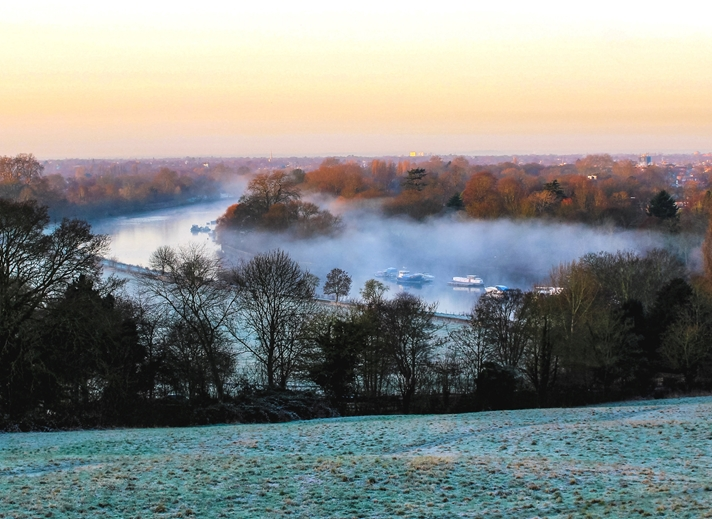 Kate Jaconello Winter Landscape  personalised online greeting card