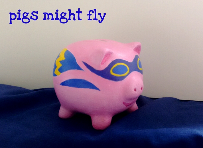 Tessa Spanton Artist Pigs Might Fly  personalised online greeting card