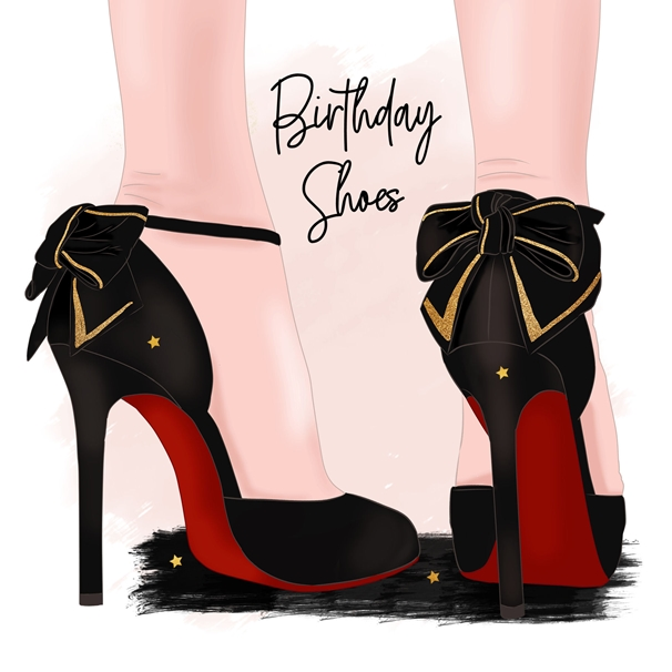 Snappy Designz Birthday Shoes  personalised online greeting card