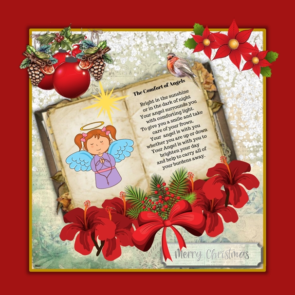 Her Nibs  The Comfort Of Angels  personalised online greeting card