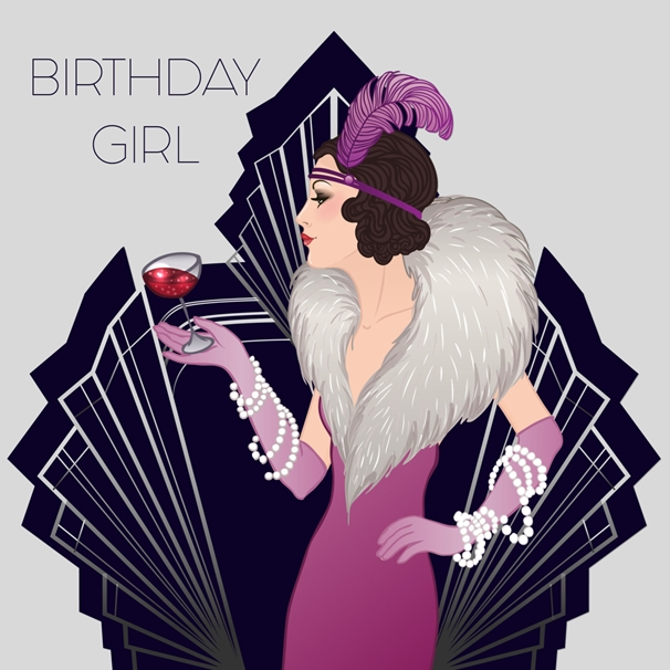 Snappy Designz Birthday Girl  personalised online greeting card