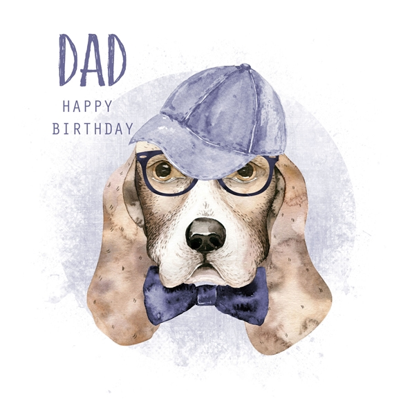 Snappy Designz Dad Birthday Card  personalised online greeting card