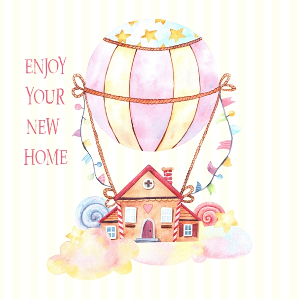 Snappy Designz New Home Card  personalised online greeting card