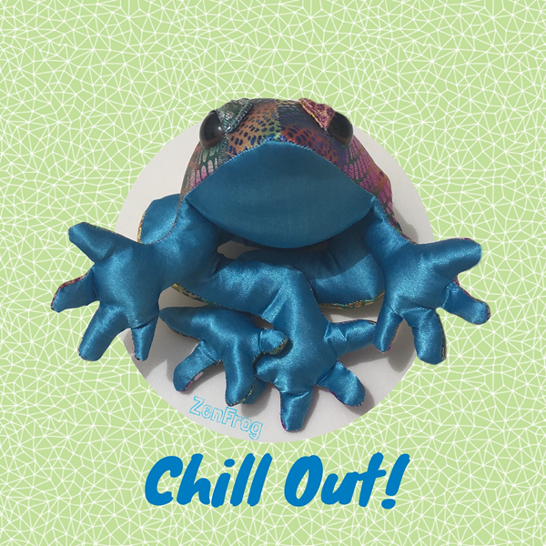 Mum's the Boss ZenFrog Chill  personalised online greeting card