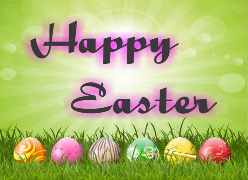 Animal welfare auctions Happy Easter  personalised online greeting card