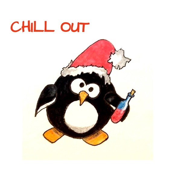 EmilyJane Chill Out at Christmas   personalised online greeting card