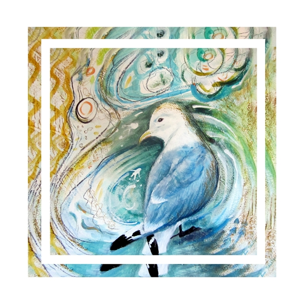 Bee Skelton Seabird  personalised online greeting card