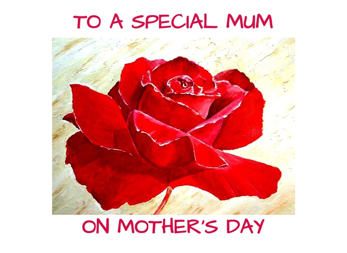 EmilyJane Mother's Day Rose  personalised online greeting card