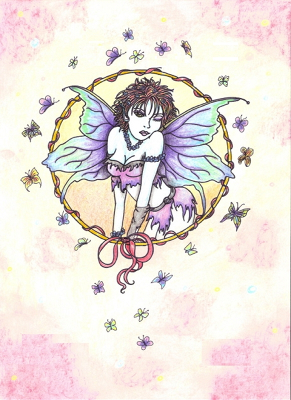 Tilly's Art Want fairy  personalised online greeting card