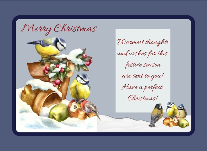 Her Nibs  Warmest Thoughts   personalised online greeting card