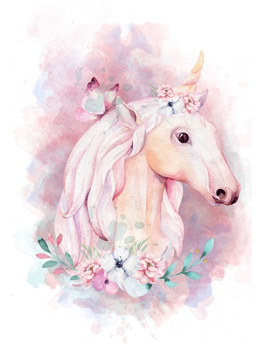 Snappy Designz Unicorn Card - Any Occasion  personalised online greeting card