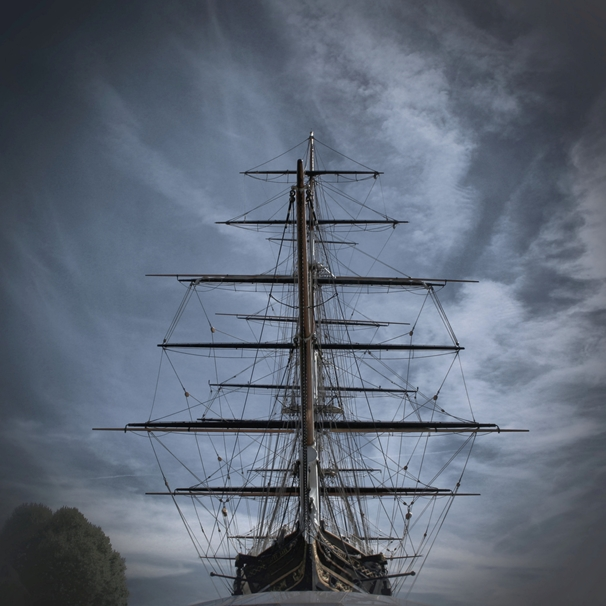 Kate Jaconello The Cutty Sark  personalised online greeting card