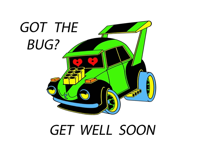 who's your froggie get well  personalised online greeting card