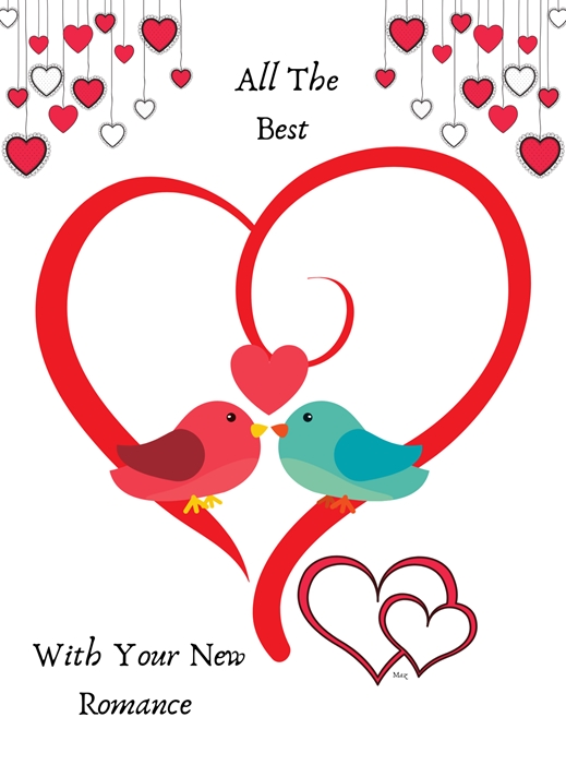 Her Nibs  New Romance   personalised online greeting card